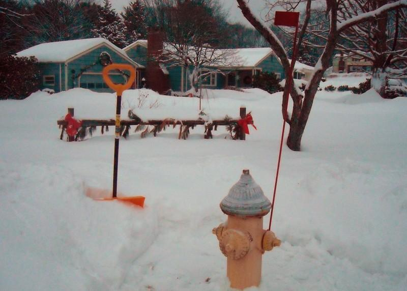 IS YOUR HYDRANT CLEAR?